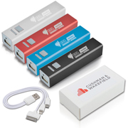 Aluminium Mobile Phone Power Bank (Stock)