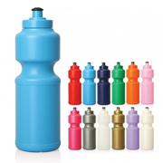 Plastic Drink Bottle w/Screw Top Lid - 750ml