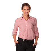 Women's Balance Stripe 3/4 Sleeve Shirt