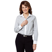 Women's Tic Stripe Long Sleeve Shirt