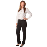 Women's Wool Stretch Low Rise Pants