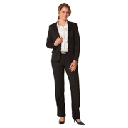 Women's Poly/Viscose Stretch Low Rise Pants