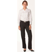 Women's Poly/Viscose Stretch Flexi Waist Utility Pants