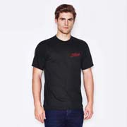 Men's USA Fit Crew Neck T-Shirt Black