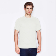 Men's USA Fit Crew Neck T-Shirt White