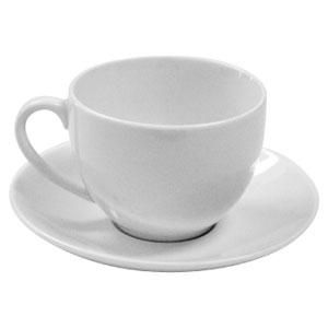 White Basics Cup & Saucer