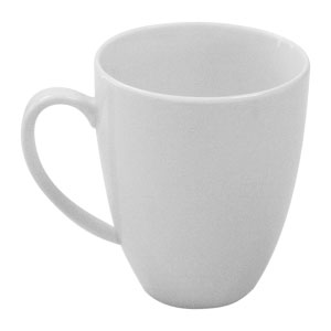 White Basics Coupe Mug