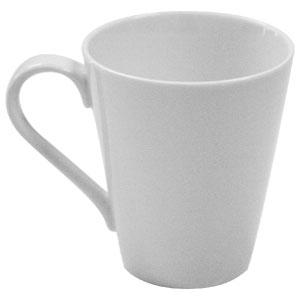 White Basics Conical Mug