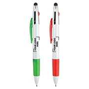 Tri-Colour Stylus Pen