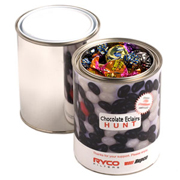Paint Tin Filled With Chocolate Eclairs 540G