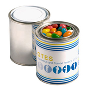 Paint Tin Filled With Mixed Eclairs 250G