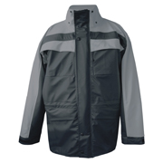 Dolphin Stretch PU Waterproof Jacket, Lightweight Mesh Lining