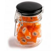 Rock Candy In Clip Lock Jar 125G