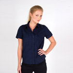 Ladies Military Short Sleeve Shirt