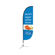 Single sided Bow Banner