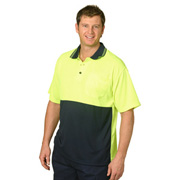CoolDry® Micro-mesh Safety Polo