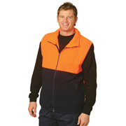 High Visibility Two Tone Zip Front Safety Vest
