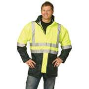 High Visibility Two Tone Jacket With 3M Reflective Tapes
