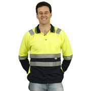 Men's TrueDry® Safety Polo With 3M Reflective Tape