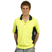 Men's Fashion TrueDry® Hi-Vis Polo