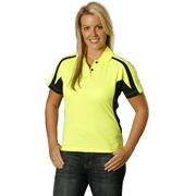 Women's TrueDry® Short Sleeve Hi-Vis Polo