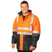 2-Tone Safety Jacket With 3M Reflective Tapes