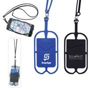 Silicone Smartphone Lanyard Wallet