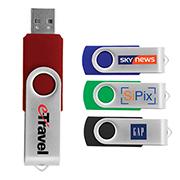Durban 4 GB Flash Flip Drive