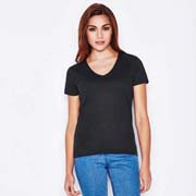 Women's Crew Neck T-Shirt Black
