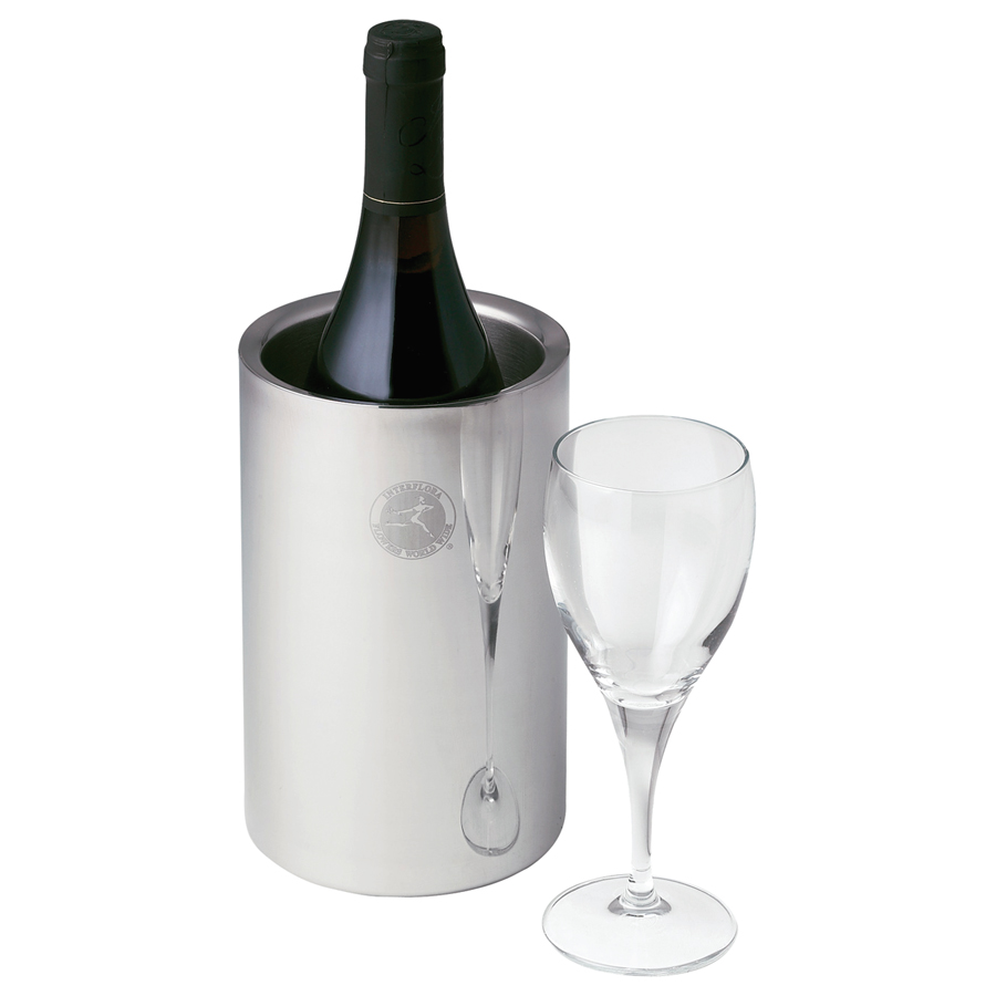 Stainless steel wine bottle cooler hot promos