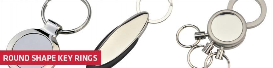Round Shape Key Rings
