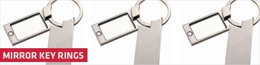 Mirror Key Rings