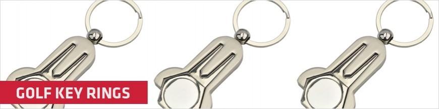 Golf Key Rings